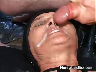 Fisting and pissing exposed to transmitted to age-old slut