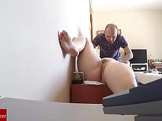Massage roleplay pussy eating