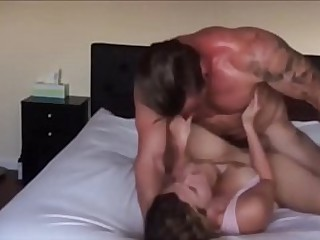 Hot milf loves a good fucking from Jacked guy